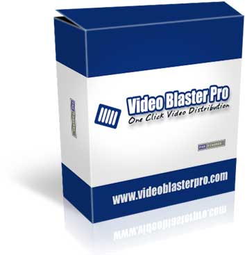 Video Blaster pro submit your videos to 17 video sharing sites